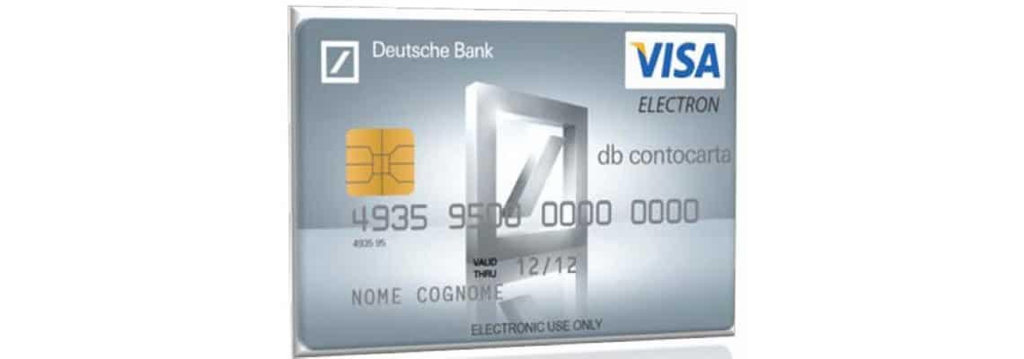 DB Contocarta: La praticità di una carta, l'efficienza di un conto corrente SENZA COSTI !